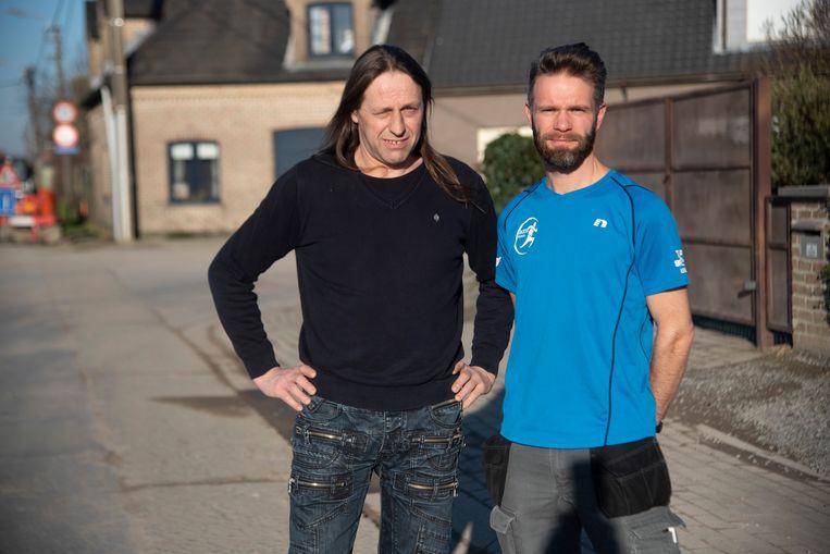 Patrick Baeyens van Swingend Wichelen en Floris Van de Putte.