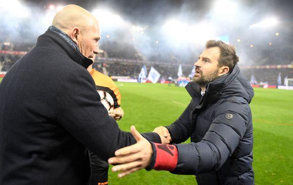Philippe Clement en Ivan Leko.