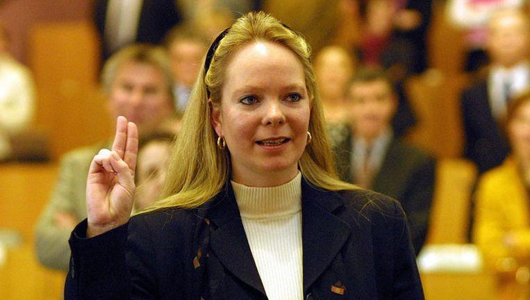 Hester Maij (CDA) keerde na de verkiezingen van 2006 niet terug in het stadsbestuur, maar ze krijgt nog steeds wachtgeld: vorig jaar 86.000 euro. In vier jaar was dat 288.000 euro. Foto ANP Beeld