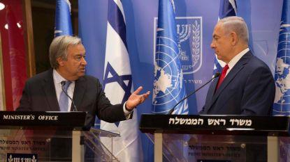 """VN: """"Annexatieplannen Netanyahu zware schending van internationaal recht"""""""