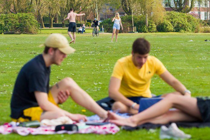 Het  Zuiderpark zou in de zomer een ontmoetingsplaats voor inwoners en toeristen kunnen zijn.