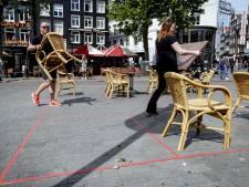 Amsterdamse horecabezoeker is braaf: 1100 extra terrassen, 0 coronaboetes