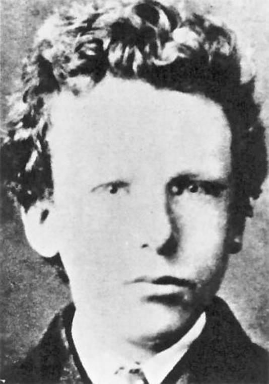 De jeugdfoto van Vincent bleek onlangs eigenlijk van broer Theo van Gogh