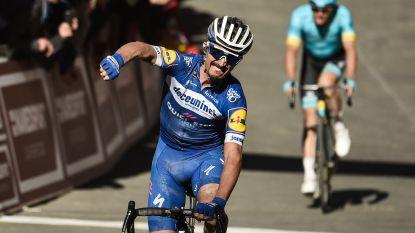 Weer bingo voor Deceuninck-Quick.Step: Alaphilippe grijpt de macht in Strade Bianche, Van Aert knap derde