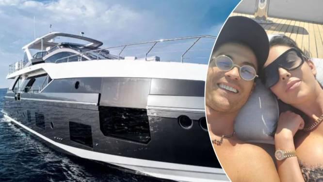 Ronaldo hoeft niet langer telkens luxejacht te huren: hij legt 6 miljoen euro neer voor 'Azimut Grande'