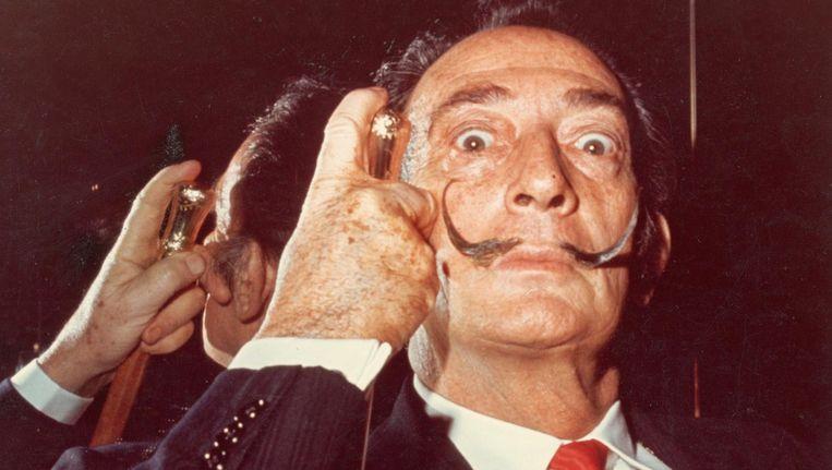 Salvador Dalí in de jaren '60. Beeld getty