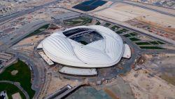 Dit is het eerste stadion voor het WK in Qatar