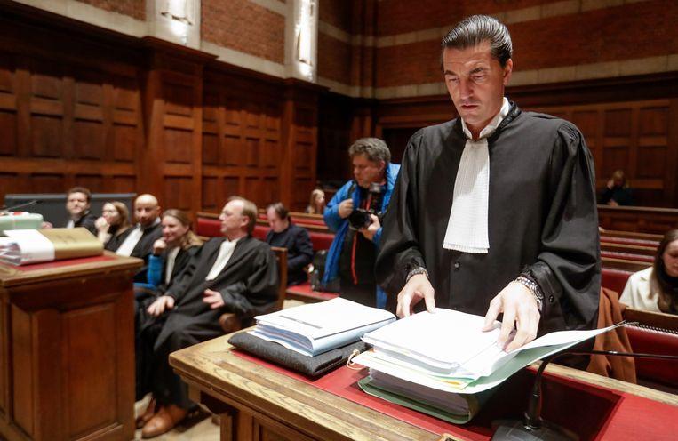 Antwerpse strafpleiter Kris Luyckx