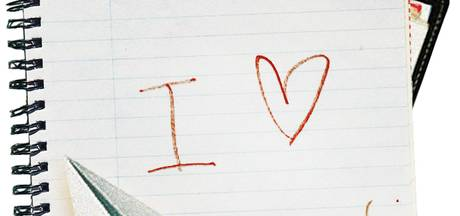 Altijd heb ik van je gedroomd, schreef ze