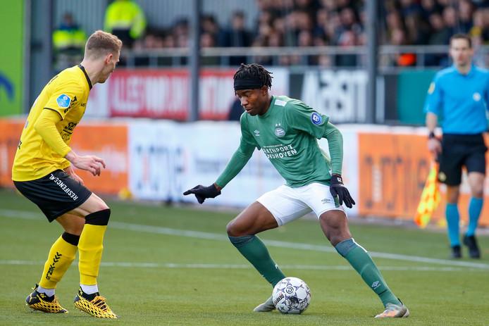 PSV-debutant Noni Madueke.