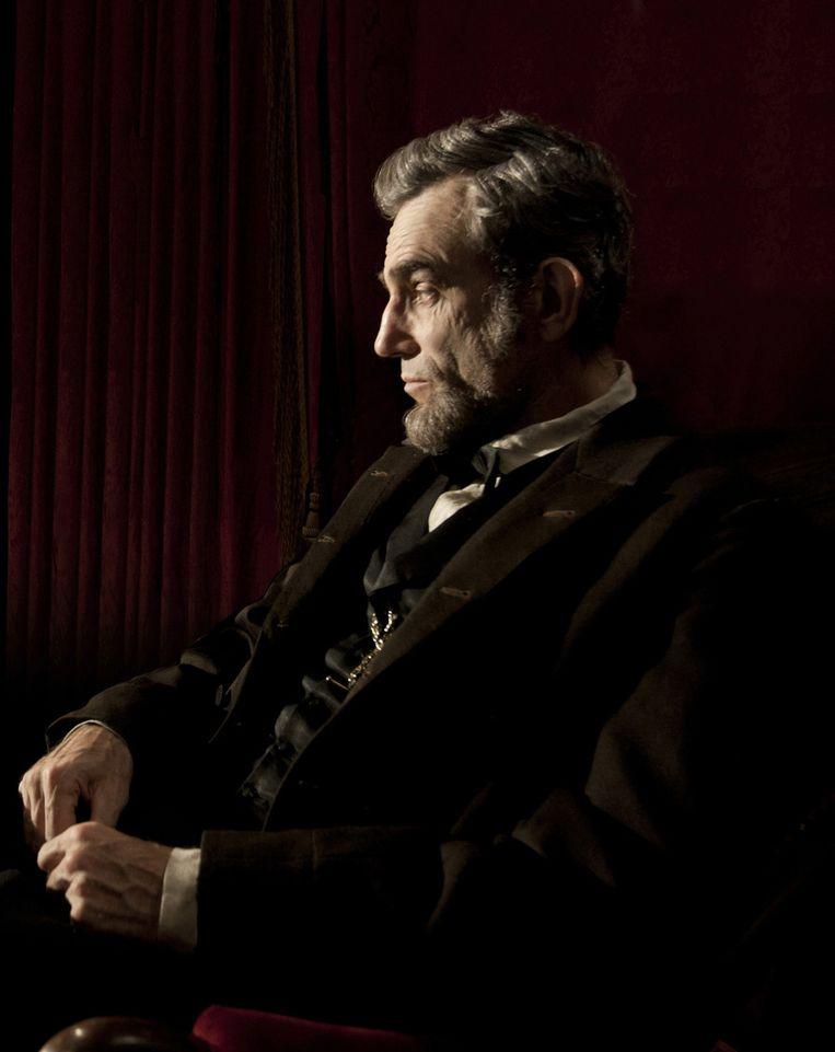 Daniel Day-Lewis als Abraham Lincoln. Beeld ap