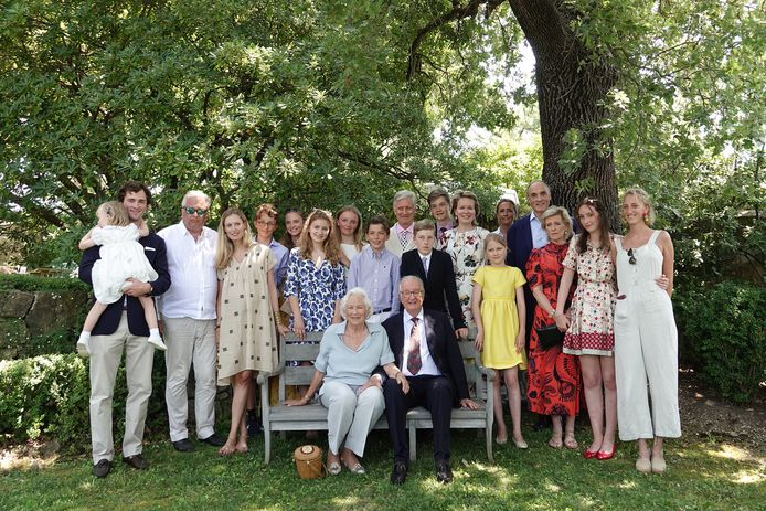 La famille royale belge au grand complet