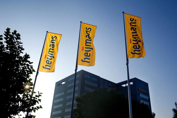 Het hoofdkantoor van bouwconcern Heijmans in Rosmalen.