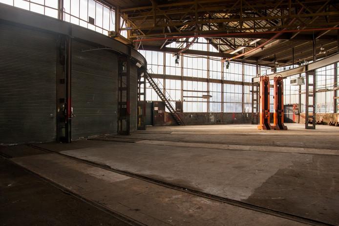 De werkplaats van de loods. Foto Justin van Groenendaal.