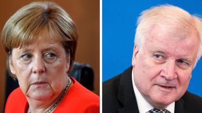 Migratiecrisis Duitsland: Seehofer wil opstappen als minister en partijleider