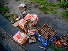 Dik 16 mille aan vuurwerkschade in Overbetuwe en Lingewaard