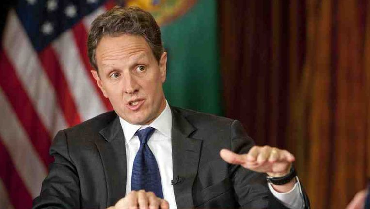 Timothy Geithner. Beeld getty