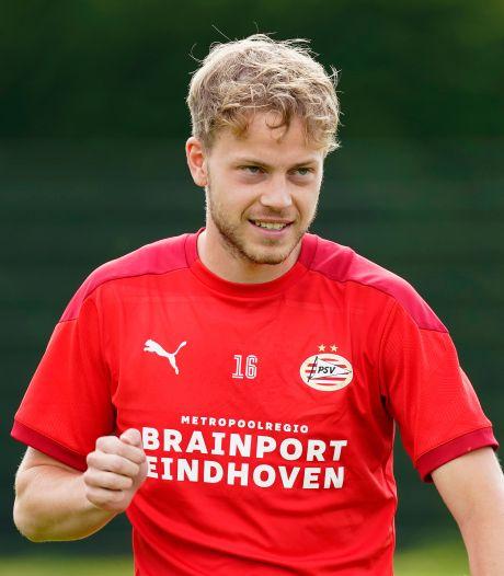 Dante Rigo is bij Sparta man geworden: 'Ik heb er vertrouwen in dat ik bij PSV een rol ga spelen'