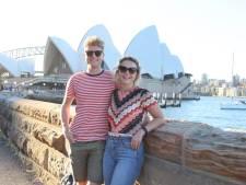 Marly uit Den Bosch fietst met stofmasker rond in Sydney: 'Je krijgt er een schorre keel en branderige ogen van'
