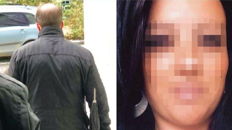 Links Ken M. en rechts slachtoffer Tamara (39).