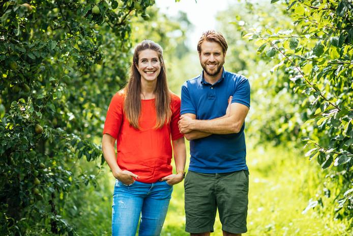 Boerschappen-oprichters Stéphanie Vellekoop en Stijn Markusse