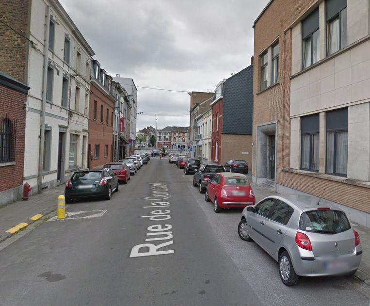 Het incident, waarover nog maar weinig informatie is, vond plaats in de Concordestraat in het centrum van La Louvière.