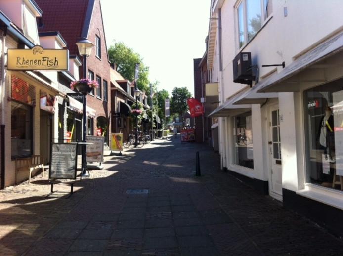 De Molenstraat in het centrum van Rhenen.