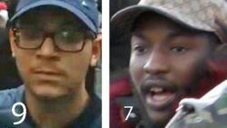 Deze negen relschoppers op 'most wanted'-lijst zoekt politie nog