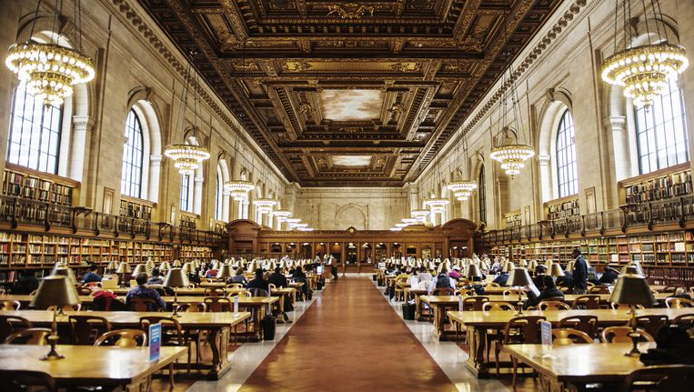 New York Public Library. Beeld Getty Images/Lonely Planet Images