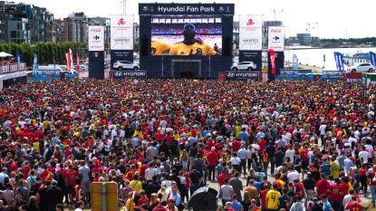 Man krijgt 80 uren werkstraf voor vechtpartij tijdens WK-match van Rode Duivels