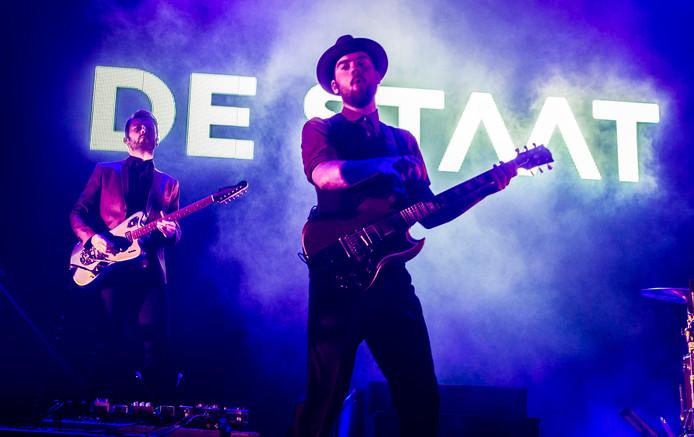 De Staat. Met de show In the Round is de Nijmeegse band genomineerd in de categorie 'beste event'.