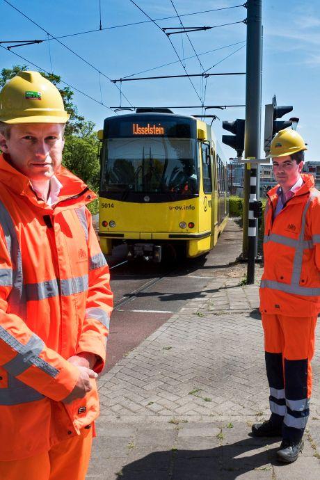 Even niet met de tram naar Nieuwegein door verbouwingen aan baan en 23 haltes voor 22 splinternieuwe trams