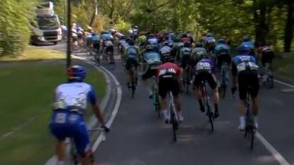 Vrachtwagen op parcours zorgt voor valpartij in Ronde van Luxemburg, Ulissi pakt eindzege
