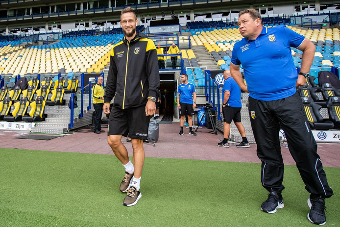 Tim Matavz en Leonid Sloetski.