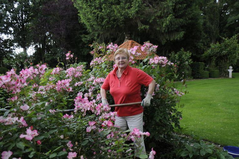 Suzanne Beelen neemt al vele jaren deel aan Open Tuinen en dat met veel plezier.