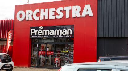 Orchestra-Prémaman sluit nog meer winkels in België, 162 banen gaan verloren