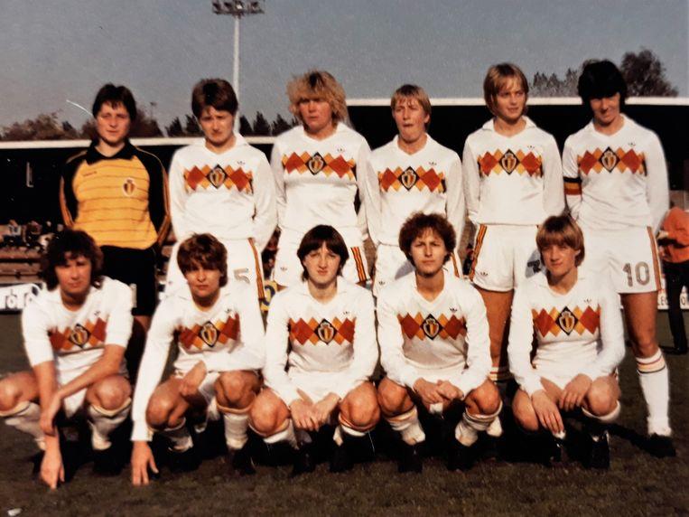 In 1984 vond het eerste EK voor vrouwen plaats. De nationale ploeg sneuvelde in de voorronde. De Belgen speelden hun zesde en laatste groepsmatch tegen West-Duitsland (1-1) op 22 oktober 1983 en sloten af met 5 punten achter Denemarken (8) en Nederland (6) naast West-Duitsland (5).