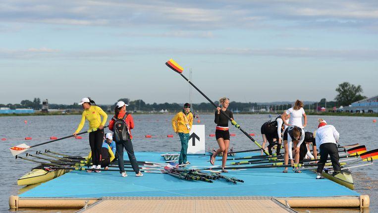 Getty Images is ook heel actief op de Olympische Spelen Beeld getty