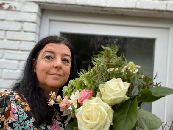 Katy Van Maldeghem maakt mooie creaties in Aalter.