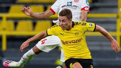 Aangeslagen Dortmund onderuit