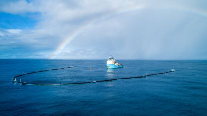 Ruimt de plasticvanger van The Ocean Cleanup ook het zeeleven op?