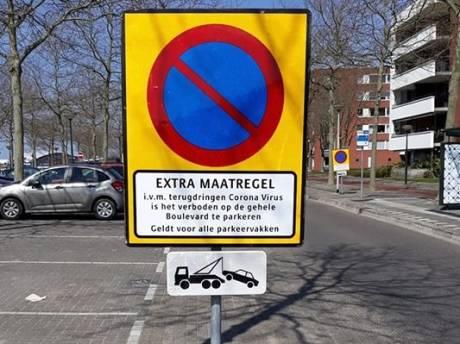 Parkeren op De Boulevard in Bergen op Zoom per direct verboden