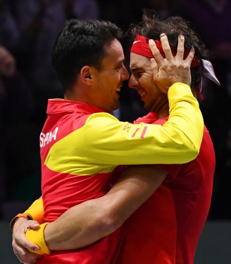 Nadal en Bautista Agut bezorgen Spanje winst Davis Cup