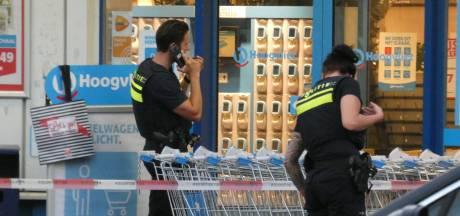 Gewapende overval op supermarkt in Veenendaal; dader slaat op de vlucht