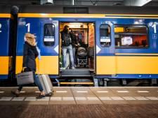 Kapotte bovenleiding bij Woerden: tot morgenochtend minder treinen