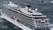 Cruiseschip in nood voor Noorse kust vaart weer, evacuatie stopgezet
