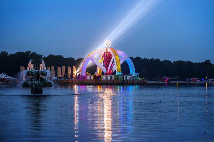 Het Mandalafestival in Wanroij, vorig jaar.