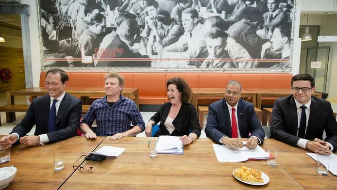 De Haagse wethouders willen 10.000 banen creëren.