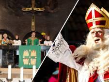 Daarom is Sinterklaas bij de kerkdienst in Odijk