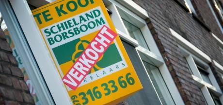 In Midden-Brabant werden huizen vorig jaar onder de vraagprijs verkocht
